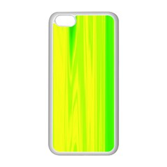 Shading Pattern Symphony Apple Iphone 5c Seamless Case (white) by Onesevenart