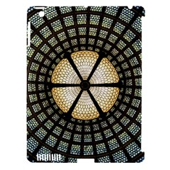Stained Glass Colorful Glass Apple Ipad 3/4 Hardshell Case (compatible With Smart Cover) by Onesevenart