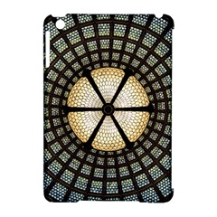 Stained Glass Colorful Glass Apple Ipad Mini Hardshell Case (compatible With Smart Cover) by Onesevenart