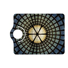 Stained Glass Colorful Glass Kindle Fire Hd (2013) Flip 360 Case by Onesevenart