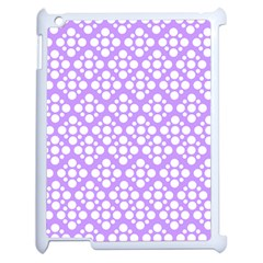The Background Background Design Apple Ipad 2 Case (white) by Onesevenart