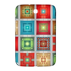 Tiles Pattern Background Colorful Samsung Galaxy Note 8 0 N5100 Hardshell Case  by Onesevenart