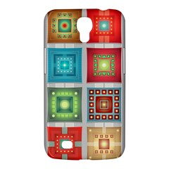 Tiles Pattern Background Colorful Samsung Galaxy Mega 6 3  I9200 Hardshell Case by Onesevenart