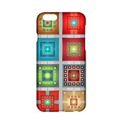 Tiles Pattern Background Colorful Apple Iphone 6/6s Hardshell Case by Onesevenart