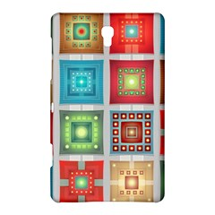 Tiles Pattern Background Colorful Samsung Galaxy Tab S (8 4 ) Hardshell Case  by Onesevenart
