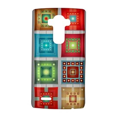 Tiles Pattern Background Colorful Lg G4 Hardshell Case by Onesevenart