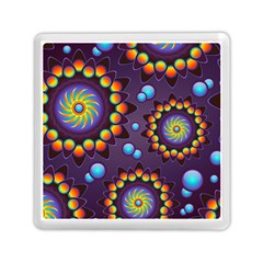 Texture Background Flower Pattern Memory Card Reader (square)  by Onesevenart