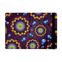 Texture Background Flower Pattern Ipad Mini 2 Flip Cases by Onesevenart
