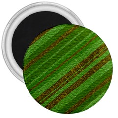 Stripes Course Texture Background 3  Magnets by Onesevenart