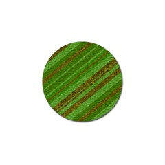 Stripes Course Texture Background Golf Ball Marker by Onesevenart