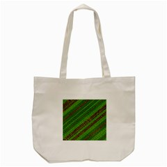 Stripes Course Texture Background Tote Bag (cream) by Onesevenart