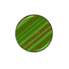 Stripes Course Texture Background Hat Clip Ball Marker (10 Pack) by Onesevenart