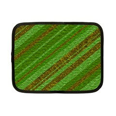 Stripes Course Texture Background Netbook Case (small)  by Onesevenart