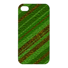 Stripes Course Texture Background Apple Iphone 4/4s Hardshell Case by Onesevenart