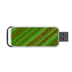 Stripes Course Texture Background Portable Usb Flash (one Side) by Onesevenart