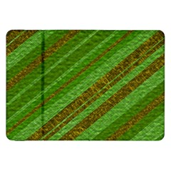 Stripes Course Texture Background Samsung Galaxy Tab 8 9  P7300 Flip Case by Onesevenart