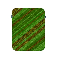 Stripes Course Texture Background Apple Ipad 2/3/4 Protective Soft Cases by Onesevenart