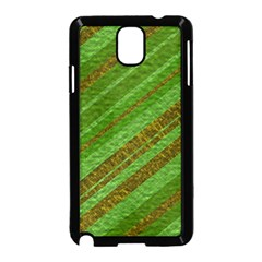 Stripes Course Texture Background Samsung Galaxy Note 3 Neo Hardshell Case (black) by Onesevenart