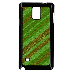 Stripes Course Texture Background Samsung Galaxy Note 4 Case (black) by Onesevenart