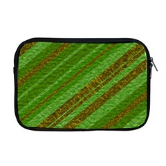 Stripes Course Texture Background Apple Macbook Pro 17  Zipper Case by Onesevenart