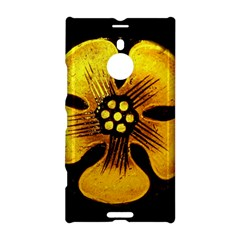Yellow Flower Stained Glass Colorful Glass Nokia Lumia 1520 by Onesevenart