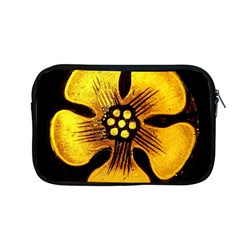 Yellow Flower Stained Glass Colorful Glass Apple Macbook Pro 13  Zipper Case by Onesevenart