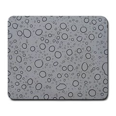 Water Glass Pattern Drops Wet Large Mousepads by Onesevenart