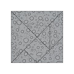 Water Glass Pattern Drops Wet Acrylic Tangram Puzzle (4  X 4 ) by Onesevenart