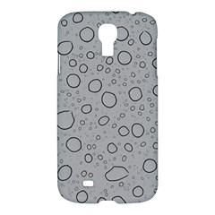 Water Glass Pattern Drops Wet Samsung Galaxy S4 I9500/i9505 Hardshell Case