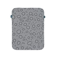 Water Glass Pattern Drops Wet Apple Ipad 2/3/4 Protective Soft Cases by Onesevenart