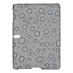 Water Glass Pattern Drops Wet Samsung Galaxy Tab S (10 5 ) Hardshell Case  by Onesevenart