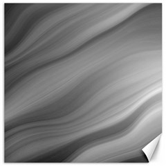 Wave Form Texture Background Canvas 16  X 16   by Onesevenart