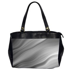 Wave Form Texture Background Office Handbags (2 Sides)  by Onesevenart