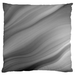 Wave Form Texture Background Large Flano Cushion Case (two Sides) by Onesevenart