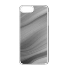 Wave Form Texture Background Apple Iphone 7 Plus White Seamless Case by Onesevenart