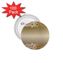 Floral Decoration 1 75  Buttons (100 Pack)  by Onesevenart