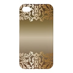 Floral Decoration Apple Iphone 4/4s Hardshell Case by Onesevenart
