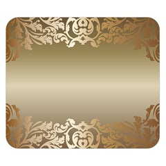 Floral Decoration Double Sided Flano Blanket (small)  by Onesevenart