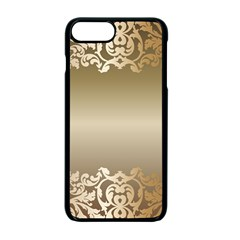 Floral Decoration Apple Iphone 7 Plus Seamless Case (black) by Onesevenart
