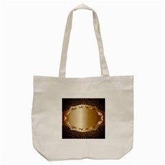 Floral Tote Bag (cream) by Onesevenart