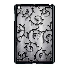 Floral Apple Ipad Mini Case (black) by Onesevenart