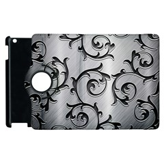 Floral Apple Ipad 2 Flip 360 Case by Onesevenart