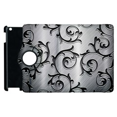 Floral Apple Ipad 3/4 Flip 360 Case by Onesevenart