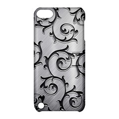 Floral Apple Ipod Touch 5 Hardshell Case With Stand by Onesevenart
