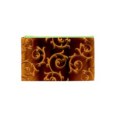 Floral Vintage Cosmetic Bag (xs) by Onesevenart