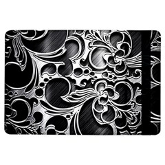 Floral High Contrast Pattern Ipad Air Flip by Onesevenart