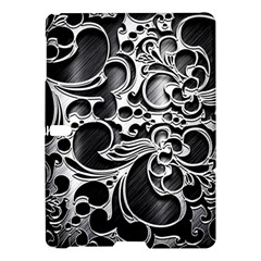 Floral High Contrast Pattern Samsung Galaxy Tab S (10 5 ) Hardshell Case  by Onesevenart