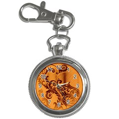 Floral Vintage  Key Chain Watches by Onesevenart