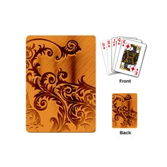 Floral Vintage  Playing Cards (mini)  by Onesevenart