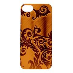 Floral Vintage  Apple Iphone 5s/ Se Hardshell Case by Onesevenart